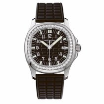 Patek Philippe Ladies Aquanaut 35mm Stainless Steel Watch on...