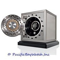 Watch Winders Colosimo Safe Winder in Stainless Steel