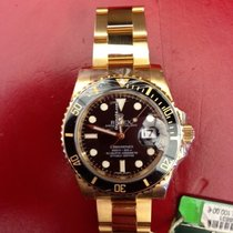 Rolex Submariner 40 mm Date Gelbgold Ref. 116618LN