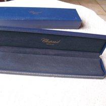 Chopard Lange Uhrenbox aus blauem Leder