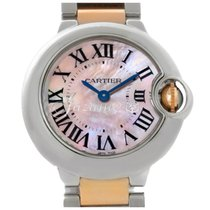 Cartier W6920034 BALLON BLUE DE 28mm PINK GOLD STEEL 2017