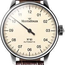 Meistersinger No 03 AM903 Elegante Herrenuhr Zeitloses Design
