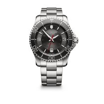 Victorinox Swiss Army Maverick Mechanical black dial and...