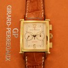 Girard Perregaux Vintage Chronograph 18k Yellow Gold Watch...