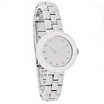 Movado Sapphire Diamond Ladies Mirror Dial Swiss Quartz Watch...
