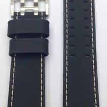 Hamilton Khaki Sunset / X-Wind Lederband schwarz 24 mm...