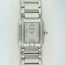 Patek Philippe 4910/10A-011 Twenty~4 Stainless Steel White Dial