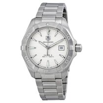 TAG Heuer Aquaracer Automatic Silver Dial Steel Men's Watch