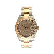 Rolex Datejust Pink Dial Steel / 18K Rose Gold