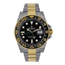Rolex GMT-MASTER II Steel & 18K Yellow Gold