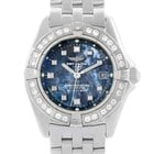 Breitling Callisto Ladies Blue Mother Of Pearl Diamond ...