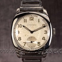 Longines B&co Vintage 1916 Carre Cambre Steel Watch Cal....