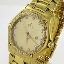 Ebel 1911 Herren Damen Uhr Automatik Brillanten 750 18kt Gold...