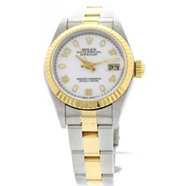 Rolex Ladies Rolex Datejust 18K Yellow Gold and Stainless...