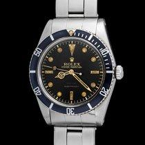 Rolex vintage Submariner 6536/1 depth in gold