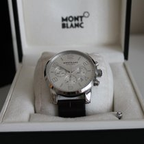 Montblanc Timewalker 43 Silver Dial Chronograph