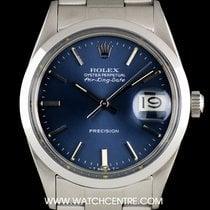 ロレックス (Rolex) S/S O/P Blue Dial Air-King Date Precision...