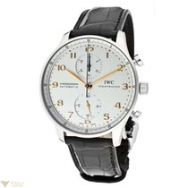 IWC Portuguese Chronograph Stainless Steel Men`s Watch