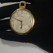 H.Moser & Cie. 14k R/G White Arabic Dial Full Hunter...