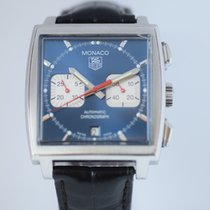 TAG Heuer CW2113 Monaco Chronograph Steve McQueen