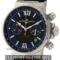 Ulysse Nardin Maxi Marine Chronograph Stainless Steel 41mm...
