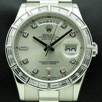 Rolex Day-Date Platinum Baguette Diamonds, REF. 118366,Full set