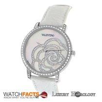 Valentino New Authentic Ladies V41 Rose 186 Diamond Steel MOP...