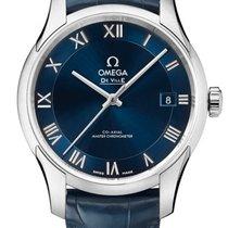 Omega 43313412103001 De VIlle Hour Vision Co-axial Blue