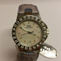 Enigma Caterpillar Diamond Bezel & Mother of Pearl Dial