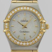 Omega CONSTELLATION DIAMONDS 18k GOLD & STEEL
