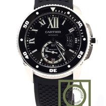 Cartier Calibre de Cartier Diver Black Dial Rubber