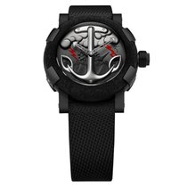Romain Jerome Tattoo-DNA Black Red Automatic Men's Watch
