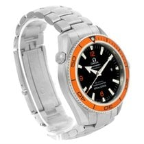 Omega Seamaster Planet Ocean Orange Bezel Mens Watch 2209.50.00