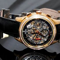 Perrelet Chronograph Skeleton GMT Diamond Bezel