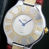 Cartier Must De 21 Quartz Steel Unisex Watch, Strap & Buckle