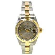 Rolex Lady 18k/SS 2Tone Datejust #79163 A series Must See