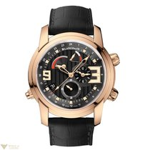 Blancpain L-Evolution Reveil GMT 18K Rose Gold Men's Watch