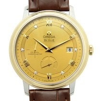 Omega De Ville Gold And Steel Gold Automatic 424.23.40.21.58.001