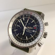 Breitling NAVITIMER WORLD - Box & Papers - WARRANTY till 2018