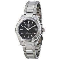 TAG Heuer Aquaracer Black Dial Stainless Steel Ladies Watch...