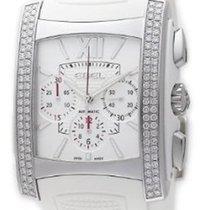 Ebel 1215785 Brasilia Chronograph with Diamonds - Steel on...