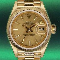 Rolex Datejust Lady 69178 President 18k Yellow Gold