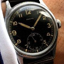 ゼニス (Zenith) Military Zenith with black dial ww1 ww2 wk1 wk2 www
