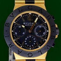 Bulgari Diagono 18K Gold Titanium 38mm Automatic Chronograph