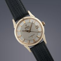 Omega Constellation 'Pie-pan' gold capped automatic