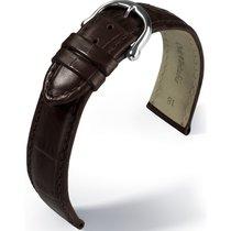 Maurice Lacroix Les Classiques Lederband Kroko imit. dunkelbra...
