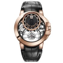 Harry Winston [NEW] Ocean Tourbillon Jumping Hours limited...