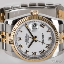 Rolex - Datejust : 116233 white dial on Jubilee bracelet