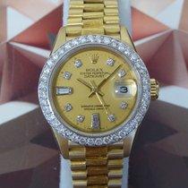 Rolex 18K President  69278, 1984 Diamond Dial & Bezel