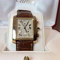Cartier TANK FRANCAISE CHRONOREFLEX